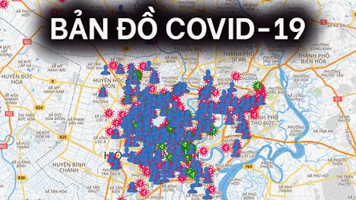 Bản đồ Covid-19 các tỉnh thành