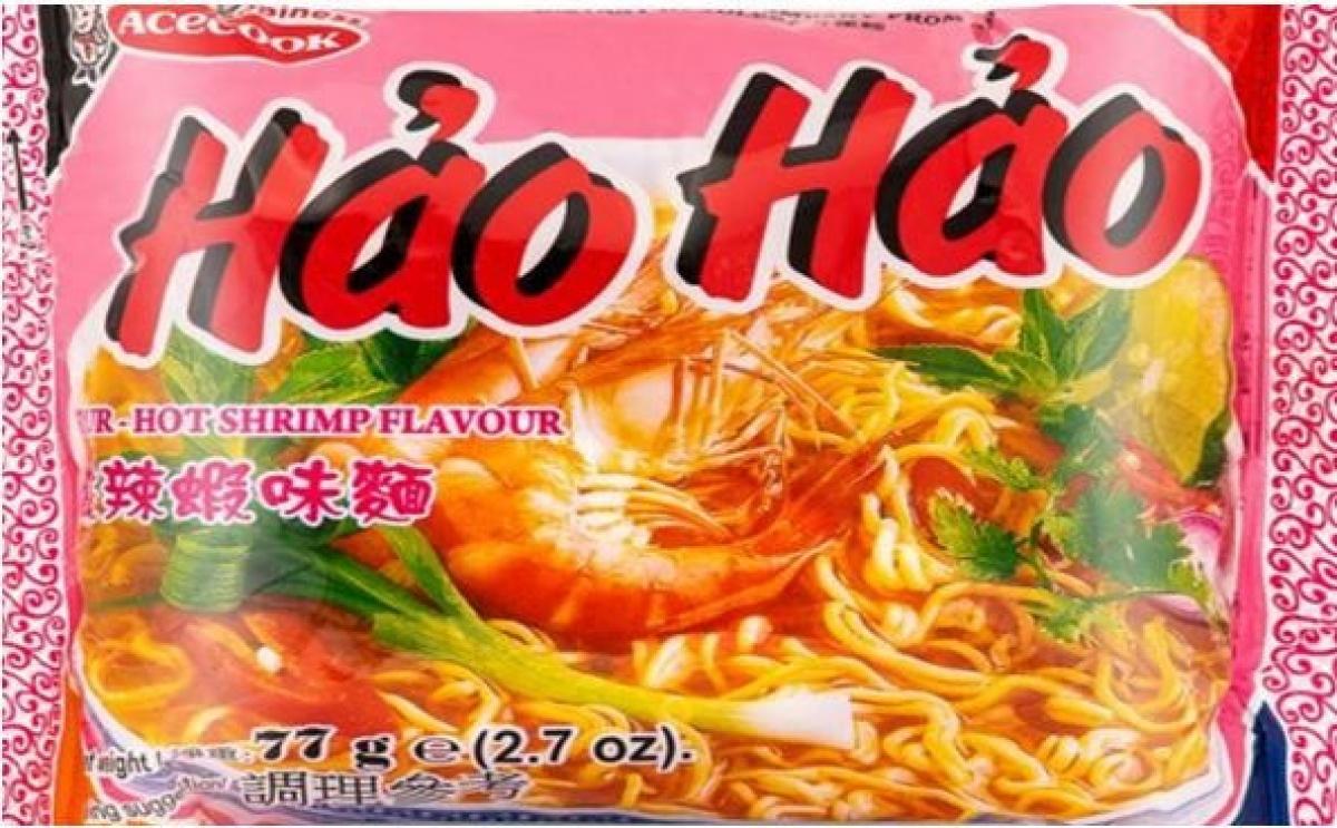 Mì tôm chua cay Hảo Hảo bị Ireland thu hồi vì chứa chất độc hại