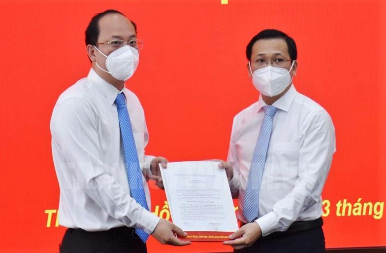 Phó chánh Văn phòng Thành ủy TP.HCM Nguyễn Hoàng Anh là ai?